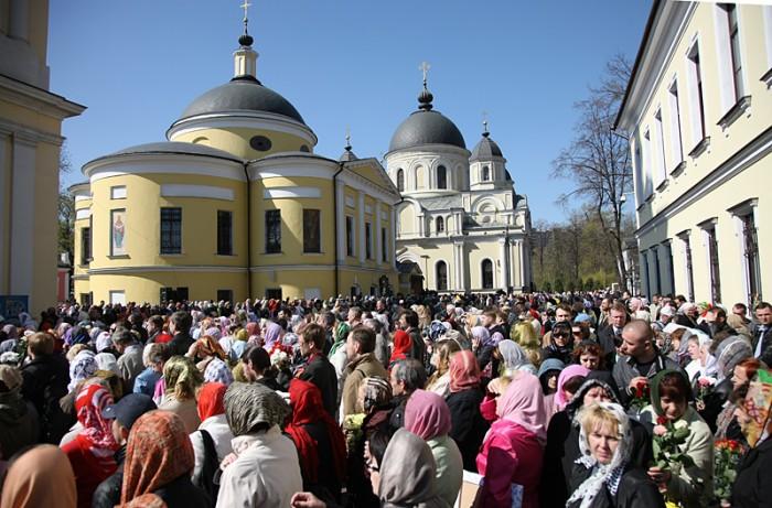 Где находится храм матрона московской